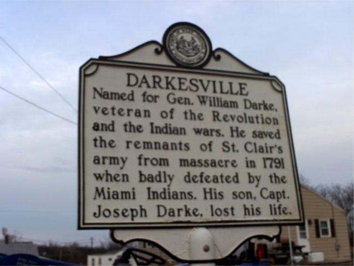 The Old Darksville Church