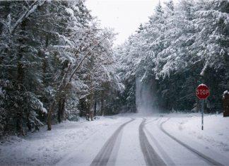 Winter Ice Face