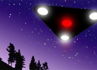 Triangular UFO Seen Over Head