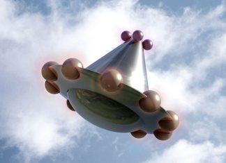 Weird UFO?