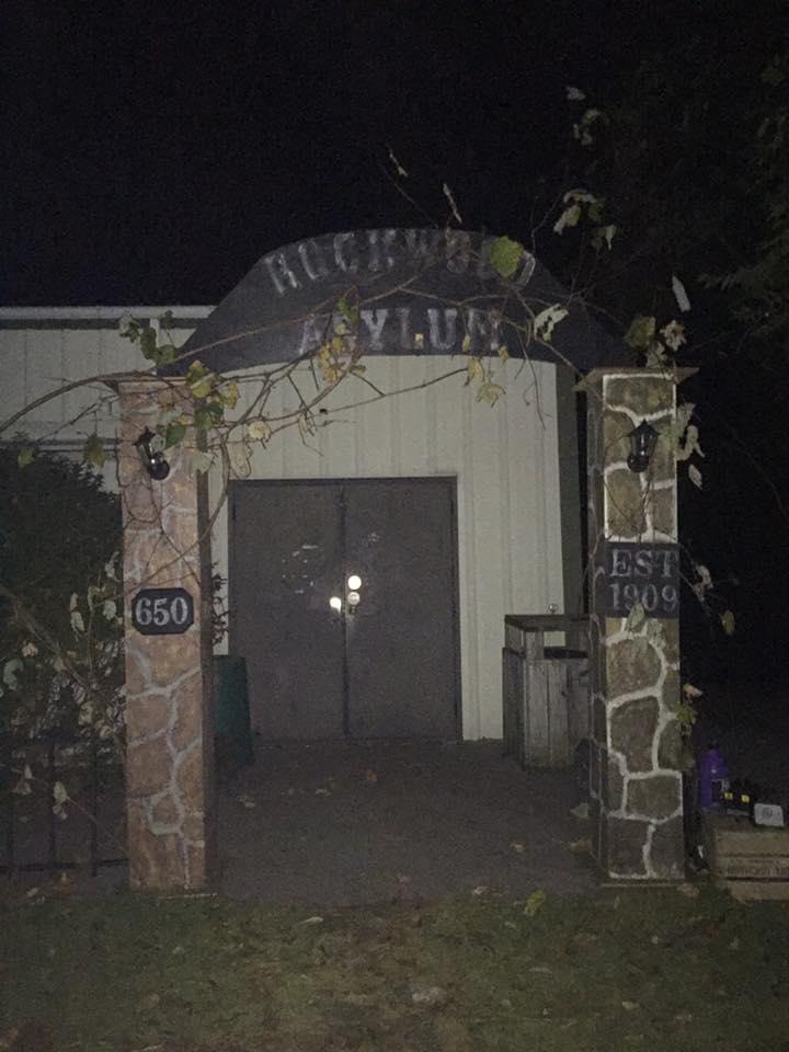 Haunted Asylum at Camp Frame